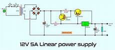 Simple Designing 12v 5a Linear Power Supply Eleccircuit