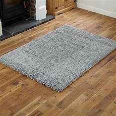 Small Rugs small large modern quality 5cm thick silver grey shaggy