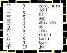nombres en japonais un sur le japon trop kawaii