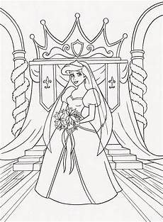 coloring pages ariel the mermaid free printable
