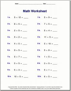 4th grade math worksheets multiplication multiplication worksheets