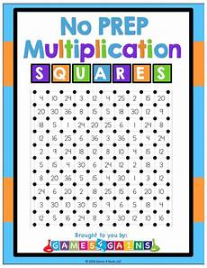 7multiplication squares worksheet