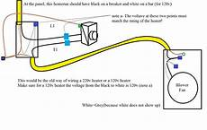 wire electric heater thermostat diagram home electrical help wiring a thermostat for a 120v space heater