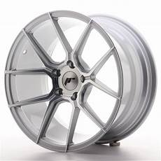 japan racing jr wheels jr30 18x9 5 et35 5x120 silver