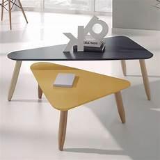 table basse scandinave jaune table basse jaune scandinave boutique gain de place fr