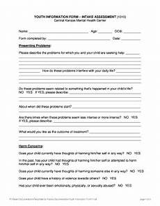 editable mental health intake assessment form fill out print governmental forms download in