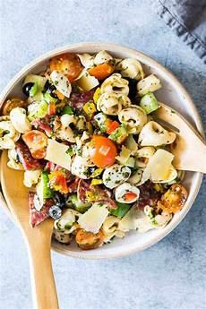 Tortellini Salat Rezept - italian antipasto tortellini pasta salad easy make