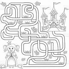 help princess find path to castle labyrinth
