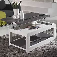 Table Basse Relevable Design Table Basse Blanche