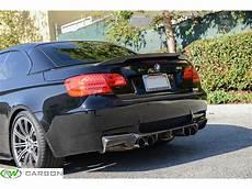 bmw e93 performance style carbon fiber trunk spoiler 328i