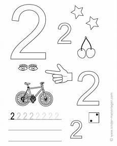 Malvorlagen Kinder Kostenlos Lernen Malvorlage Zahl 2 Coloring And Malvorlagan