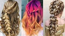 12 easy cute braided hairstyles for summer 2018 easy braid your own hair for beginners youtube