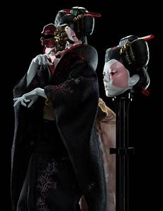 Weta Ghost In The Shell Geisha 1 4 Mix