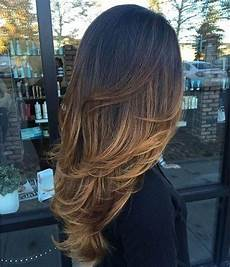 Hair Care Meche Caramel Sur Cheveux Brun