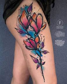 40 graphic watercolor tattoos by vika kiwi tattooadore