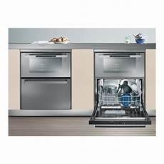 combine evier lave vaisselle duo609 four et lave vaisselle 6 couverts