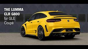 Dia Show Tuning Mercedes GLE Coupe 650PS By Lumma Design