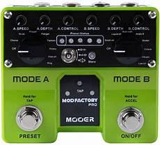 mooer mod factory mooer mod factory pro pedal stompbox in