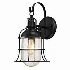 westinghouse tavern 1 light textured black outdoor wall lantern 6347100 the home depot