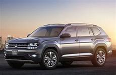 a volkswagen production begins for all new vw atlas midsize three row