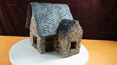 Elfenhaus Selber Bauen - garten dekoration aus beton mini haus 4