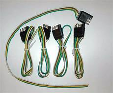 flat wire harness pin 5 wiring harness 4 pin connector trailer end bond 4 way flat 24 quot wire ebay
