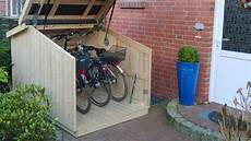 Schicke Schuppen Mini Garagen Sch 252 Tzen Vor Fahrrad Dieben