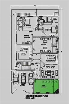 one kanal house plan info 360