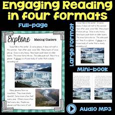 earth science glaciers worksheets 13303 explore glaciers water on earth second grade science stations tpt
