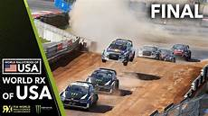 rallycross rx 2018 world rx 2018 world rallycross of usa