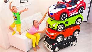 Magic Little Driver Ride On Toy Cars And Transform Car For
