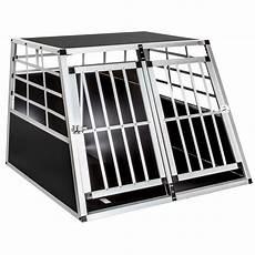gabbie cani alluminio trasportino doppio gabbia in alluminio per cani da auto