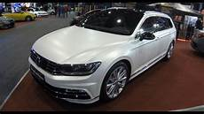 Vw Passat Variant R Line New Model White And Matte