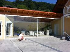 Schiebeelemente Für Terrasse - glaswand f 252 r terrasse als windschutz modernes