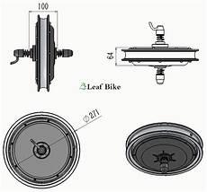 casted 14 inch 36v 750w front hub motor electric bike wheel