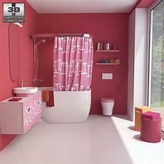bathroom 07 set 3d model furniture on hum3d