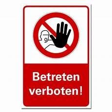betreten verboten schild achtung kein zutritt