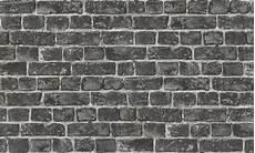 Papier Peint En Trompe L Oeil Quot Mur En Briquettes Quot Gris