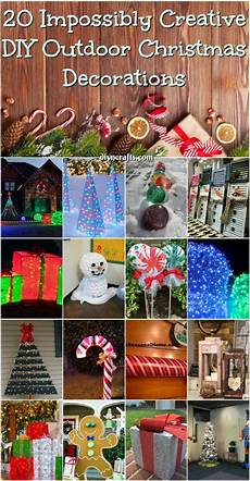 Decorations Outdoor Diy by 20 Impossibly Creative Diy Outdoor Decorations
