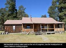 Cabin Located At The Valles Caldera National Preserve Is
