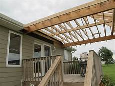 building a roof over my deck tcworks org