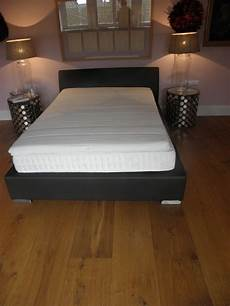 boxspring bett 140 x 200 cm komplett mit matratze