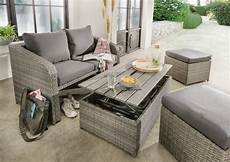 loungeset sofa hocker tisch balkonset loungem 246 bel inkl