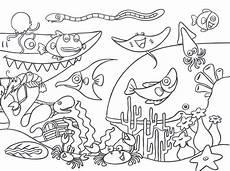 Malvorlagen Unterwasser Tiere Unterwasserwelt Ausmalbilder Zum Drucken