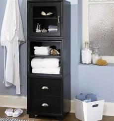 Free Standing Bathroom Storage Ideas Black Free Standing Towel Storage Ideas Decolover Net