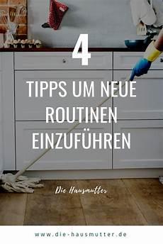 4 Tipps Um Eine Routine Im Haushalt Zu Entwickeln