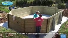 installer piscine hors sol sur 92998 le terrassement la dalle et le montage d une piscine bois sunbay
