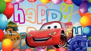 Disney Pixar Cars Happy Birthday Song