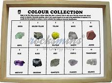 Minerals Of The World Chart Minerals Colour Collection Rocksmins