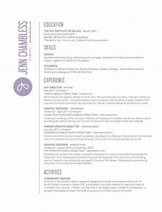 jenn chambless art director resume graphic design resume resume design creative cv